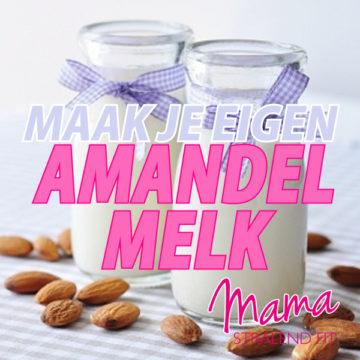 Amandelmelk zelf maken