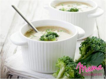 Broccolisoep met zonnebloempitten en cashewnoten