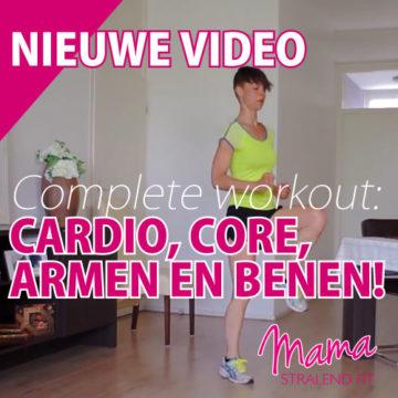 Complete workout voor cardio, core, armen en benen