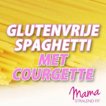 Glutenvrije Spaghetti van Courgette