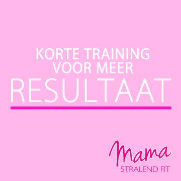 Korte training voor méér resultaat