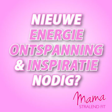 Nieuwe energie, ontspanning en inspiratie nodig?