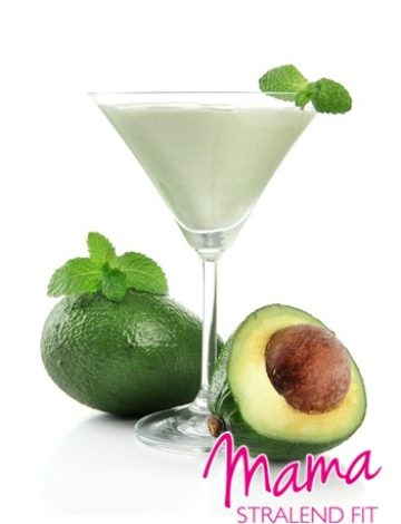 Suikervrij ontbijt / snack: Appel-avocado smoothie