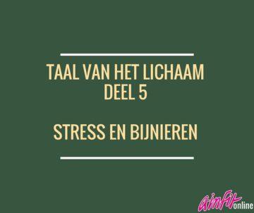 Taal van het lichaam: Stress en Bijnieren (Deel 5)