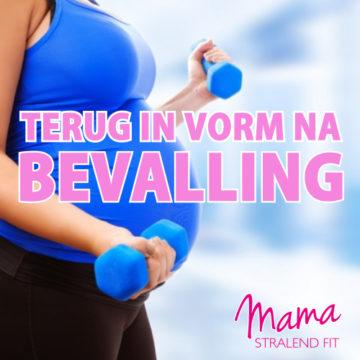 Terug in vorm na bevalling