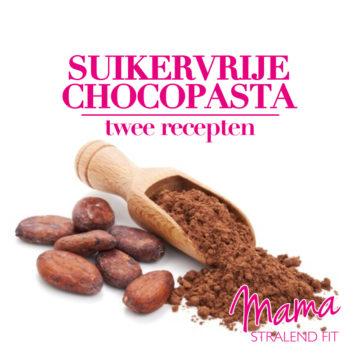 Twee recepten voor Suikervrije Chocopasta van rauwe cacao