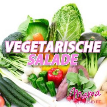 Vegetarische (lunch)salade