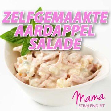 Zelfgemaakte aardappelsalade
