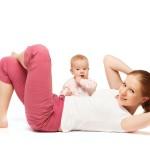 Sporten na je bevalling