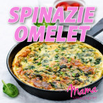 spinazie-omelet