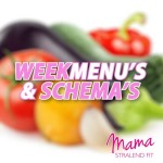 weekmenu's-schema's