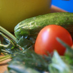 courgettepizza-tomaat-mozarella-rucola