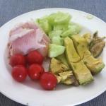 restjesdag met groenten en forel