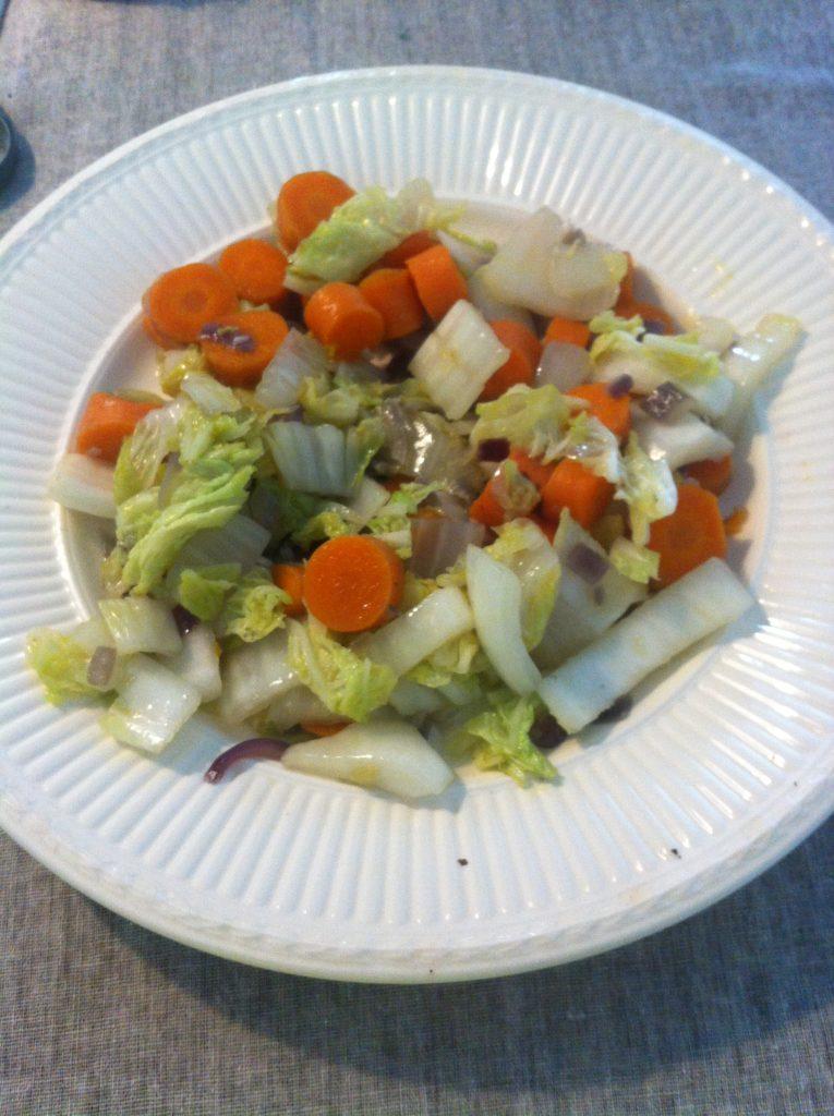 gewokte groente